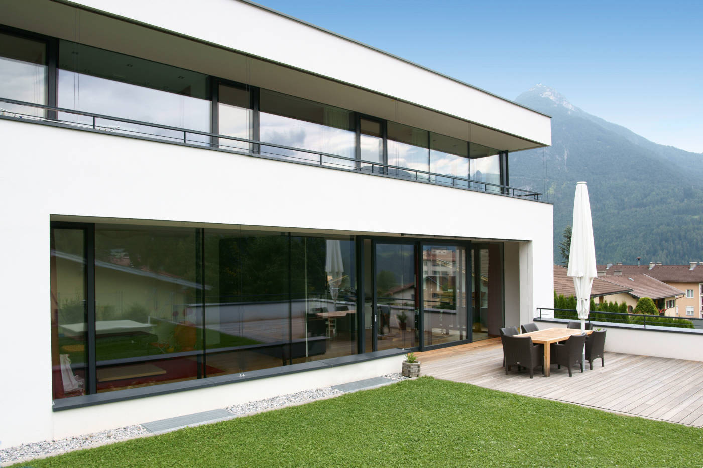 Lift and Slide Doors Modern Windows Patio Doors NeuFenster